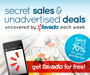 favado grocery savings app