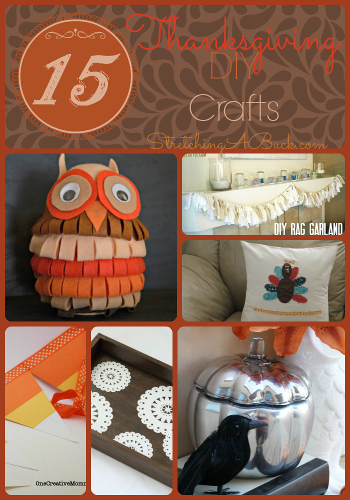 15 Thanksgiving Diy Crafts Thanksgiving Morning Turkey