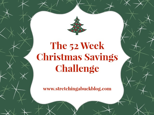 52 week christmas savings challenge