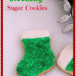 Thumbnail image for Christmas Green Stocking Sugar Cookie Recipe