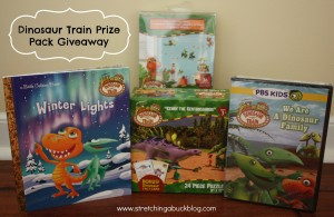 dinosaur train prize pack giveaway