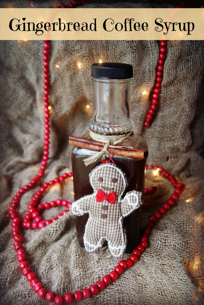 gingerbread coffee syrup recipe