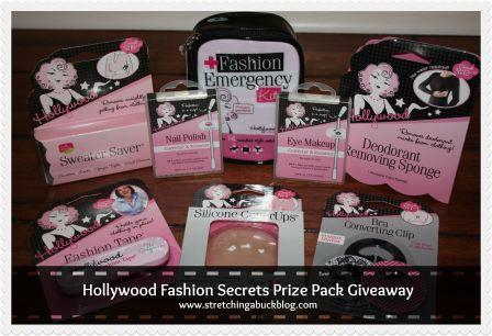 hollywood fashion secrets prize pack giveaway 2