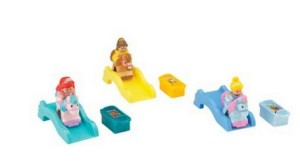 little people princess klip klop pack