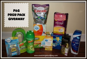 proctor and gamble prize pack giveaway