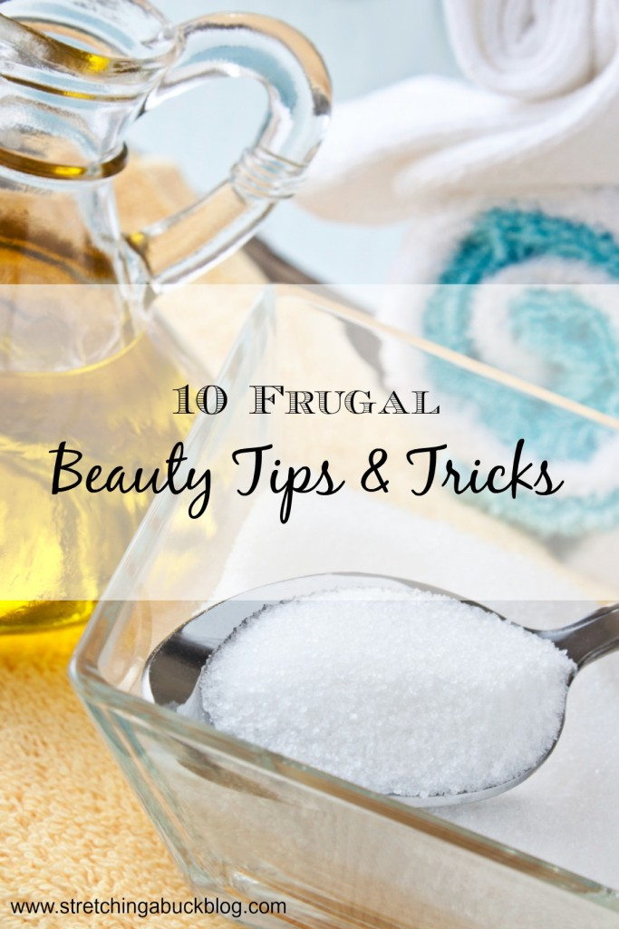Ten Fun Frugal Beauty Tips