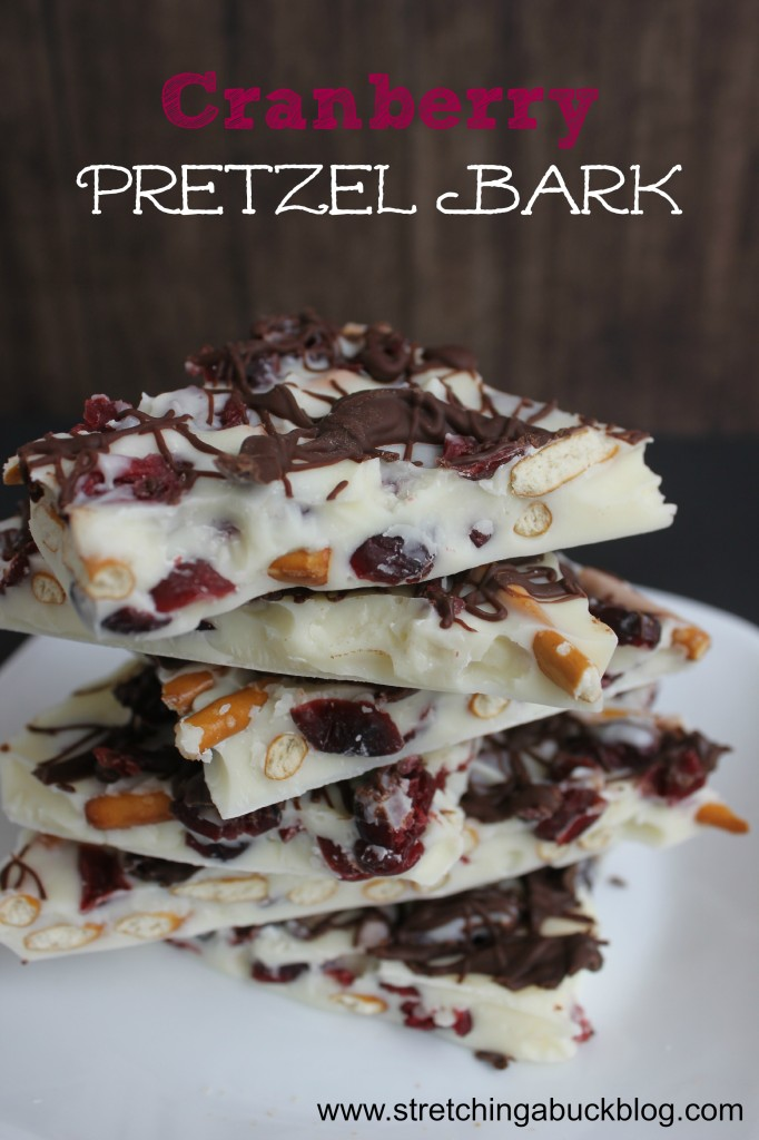 cranberry pretzel bark recipe