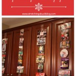 Thumbnail image for Quick and Easy DIY Holiday Christmas Card Display Idea