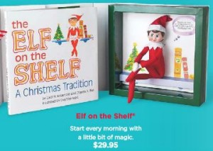 elf on the shelf holiday fun