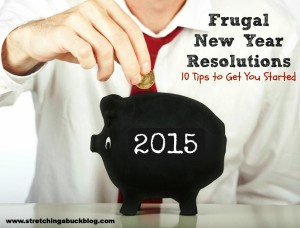 frugal new year resolutions 2015
