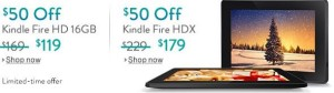 kindle fire cyber week deals