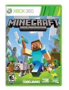 minecraft xbox 360 cyber monday deal