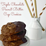 Thumbnail image for Triple Chocolate Peanut Butter Cookie Recipe