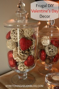frugal diy valentines day decor