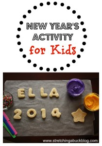 new year eve activity for kids new year cookies