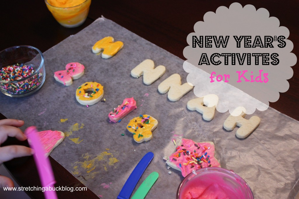 new years activities for young kids