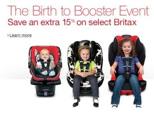 britax birth to booster savings event
