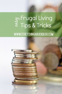 easy frugal living tips and tricks