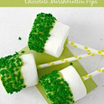 Thumbnail image for St. Patrick's Day Chocolate Marshmallow Pops