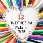 Thumbnail image for 12 Free Valentine's Day Pictures to Color
