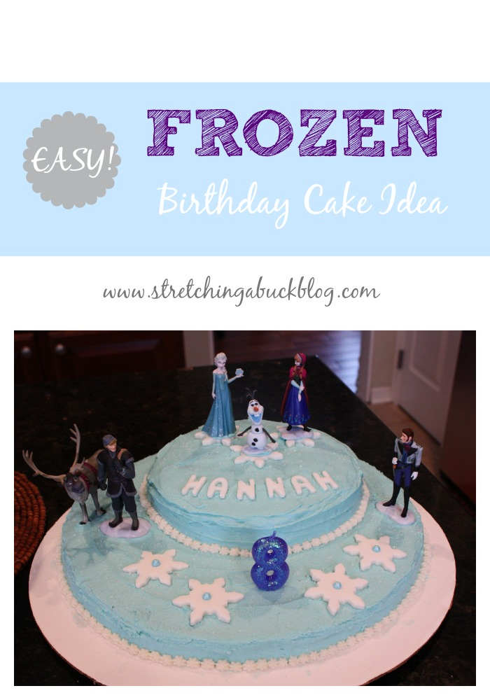 disney frozen birthday cake idea