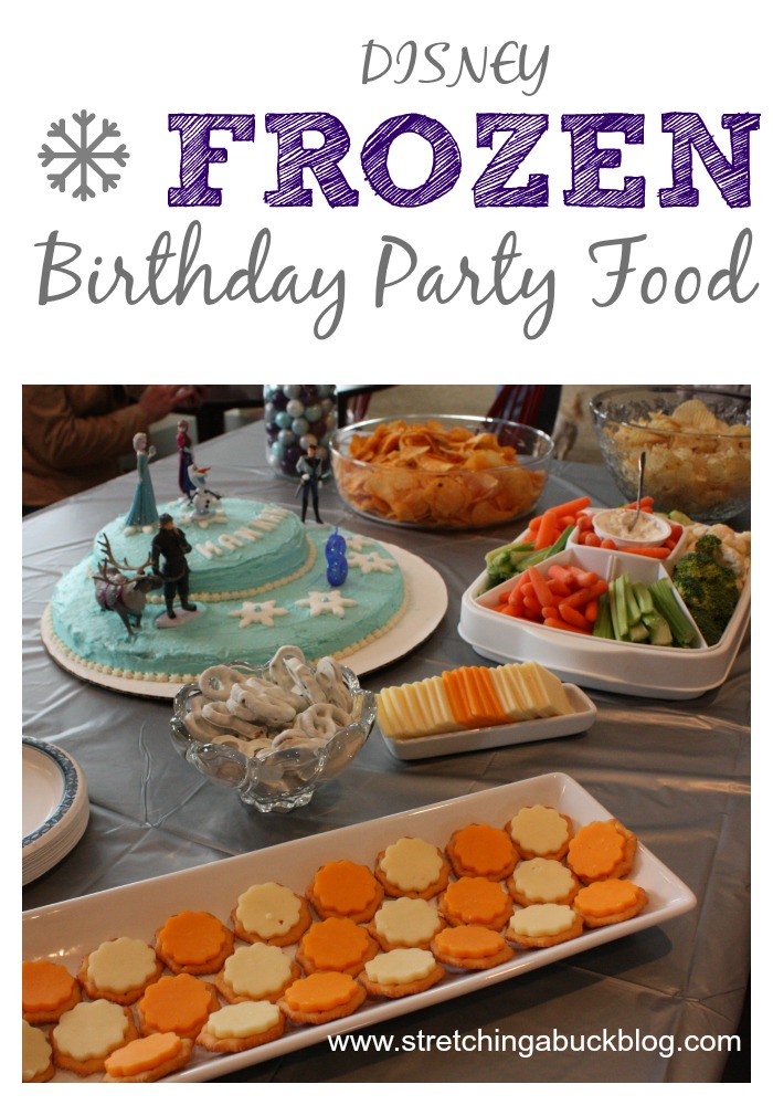 disney frozen birthday party food