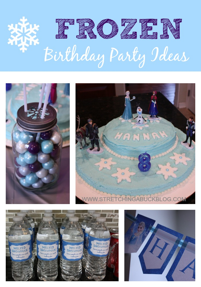 Disney Frozen Birthday Party Ideas Stretching a Buck