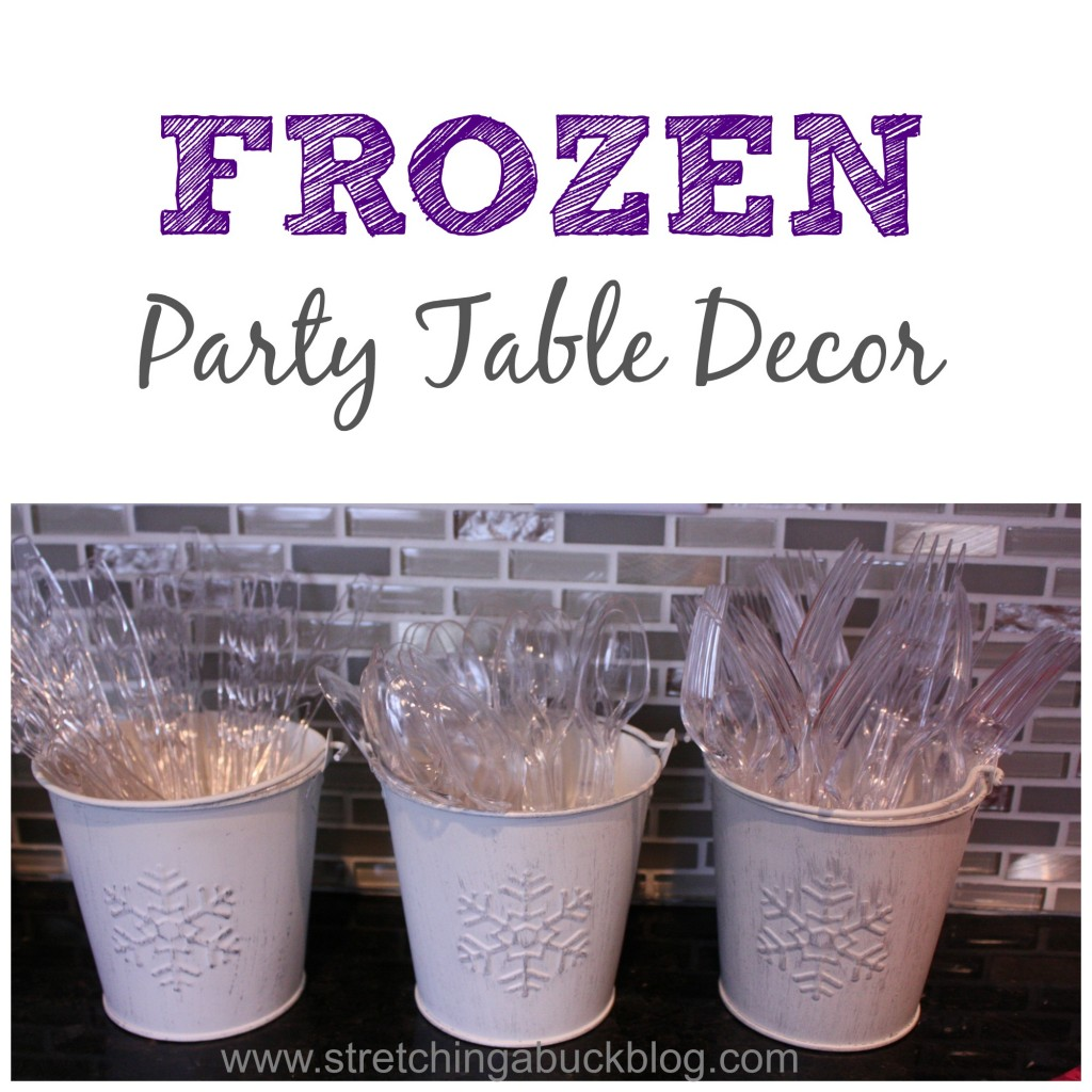 Disney Frozen Birthday Party Ideas - Stretching a Buck ...