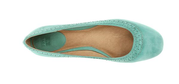 frye esther ballet flat sale