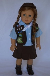girl scout brownie american girl outfit