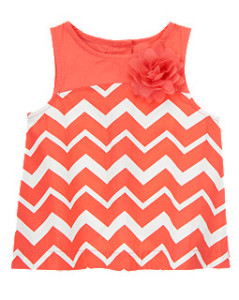 gymboree chevron top