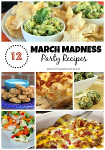 march madness party recipes