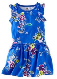 tea collection blue dress