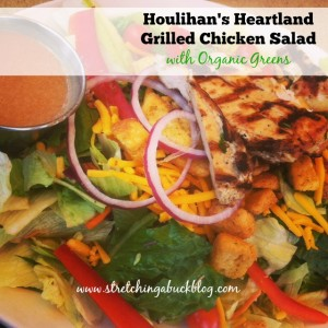 houlihans heatland grilled chicken salad with organic greens