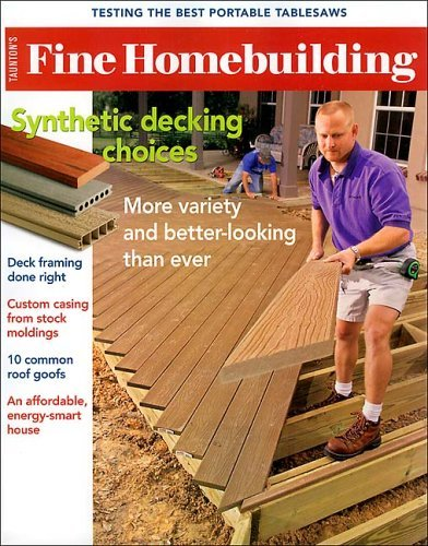 Fine Homebuilding Magazine Subscription Deal 1 Year For