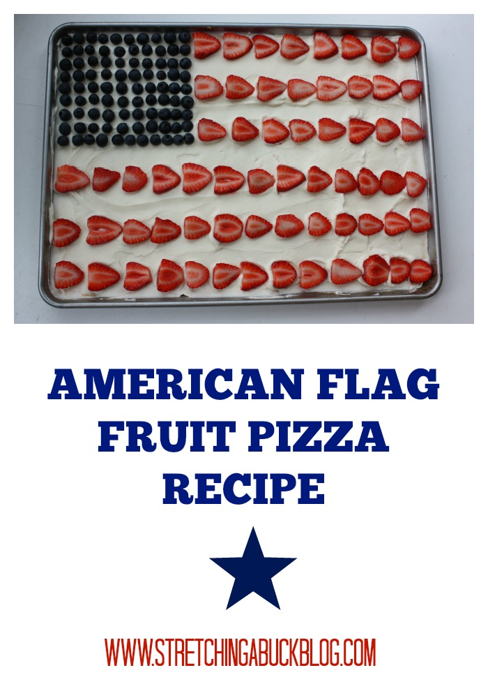American Flag Fruit Pizza Recipe - Stretching a Buck | Stretching a ...