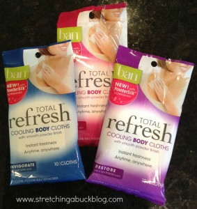 ban total refresh cooling body cloths review