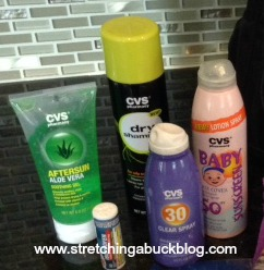 cvs brand sun care products