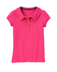 gymboree uniform polo shirt sale