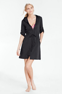 lands end swim cover up