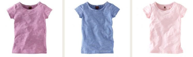 tea collection striped layering tees