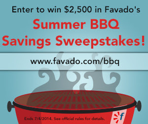 favado summer sweepstakes