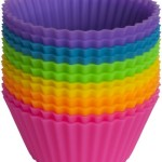 Thumbnail image for Reusable Silicone Baking Cups Set of 12 for $10.99