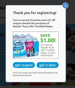 Nestlé® Pure Life® Drink Better  Live Better ™ Rewards