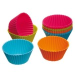 Thumbnail image for Reusable Silicone Cupcake Holders, 12 pk for $3.79 Shipped