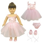 Thumbnail image for Ballerina Dance Dress Set for American Girl Dolls for $12.95
