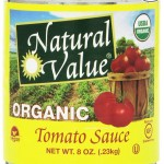 Thumbnail image for Natural Value Organic Tomato Sauce for $0.99 Per Can Shipped