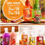 Thumbnail image for Bath & Body Works Sale | Hand Soap As Low As $3.43