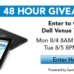 Thumbnail image for Dell Venue Tablet Giveaway #DellVenueBTS #backtoschool