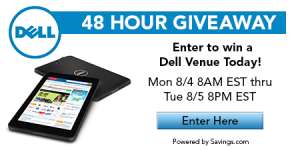dell venue back to school giveaway
